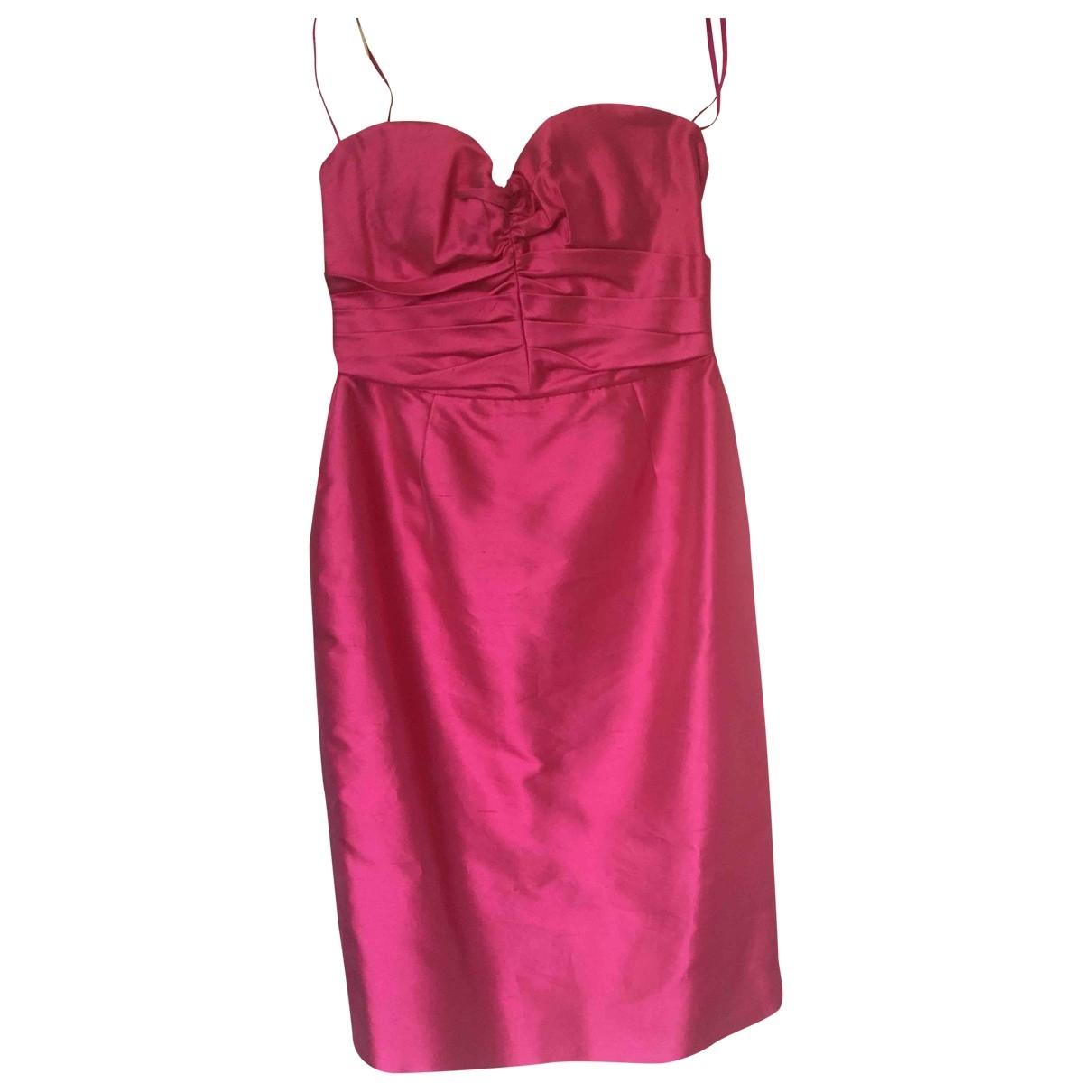 D&g - Robe   pour femme en soie - rose