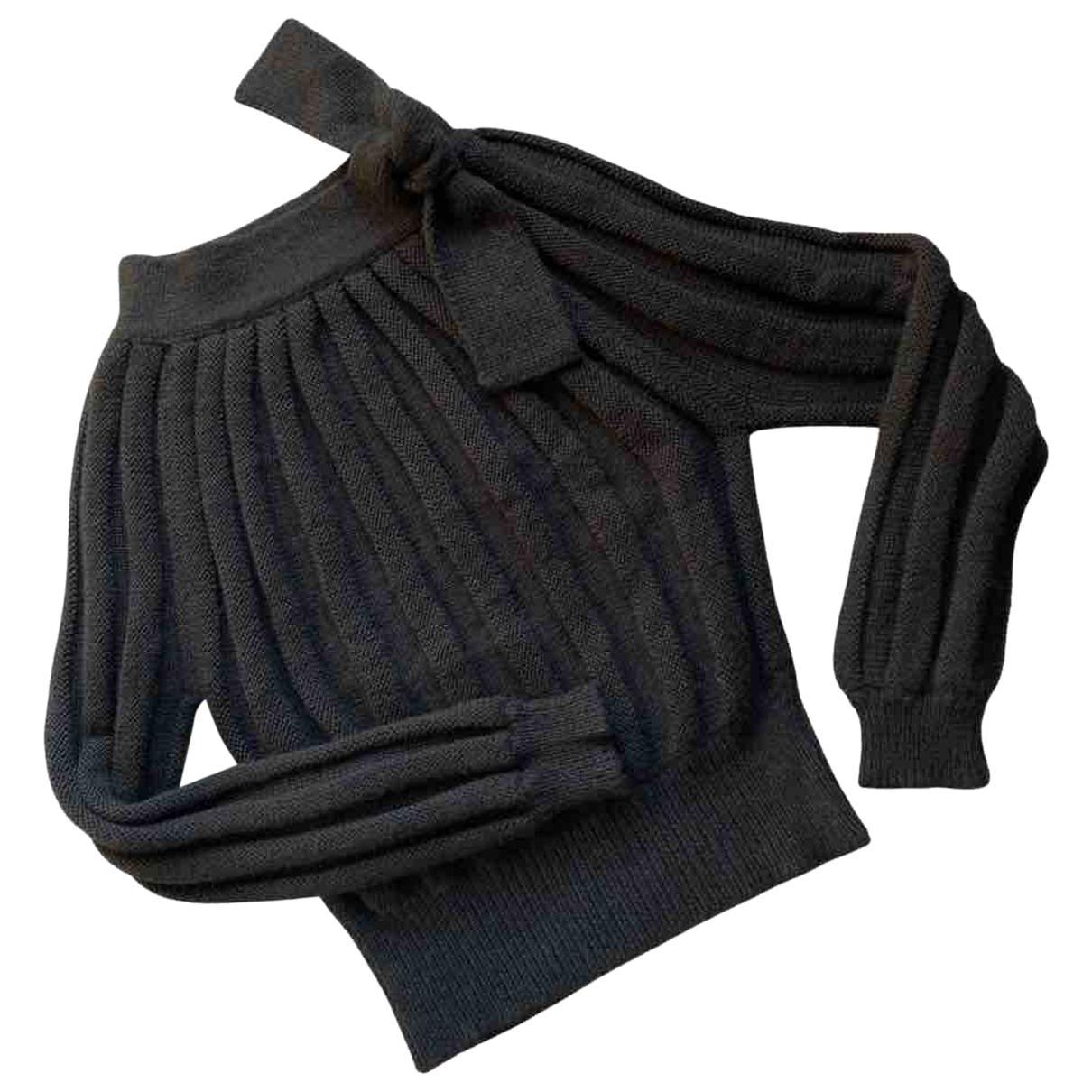 Cacharel - Pull   pour femme en laine - noir