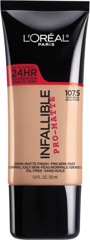 Infallible Pro-Matte Liquid Longwear Foundation - Ivory Beige 107.5