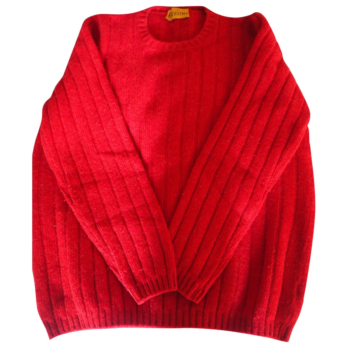 Non Signé / Unsigned \N Red Wool Knitwear for Women S International