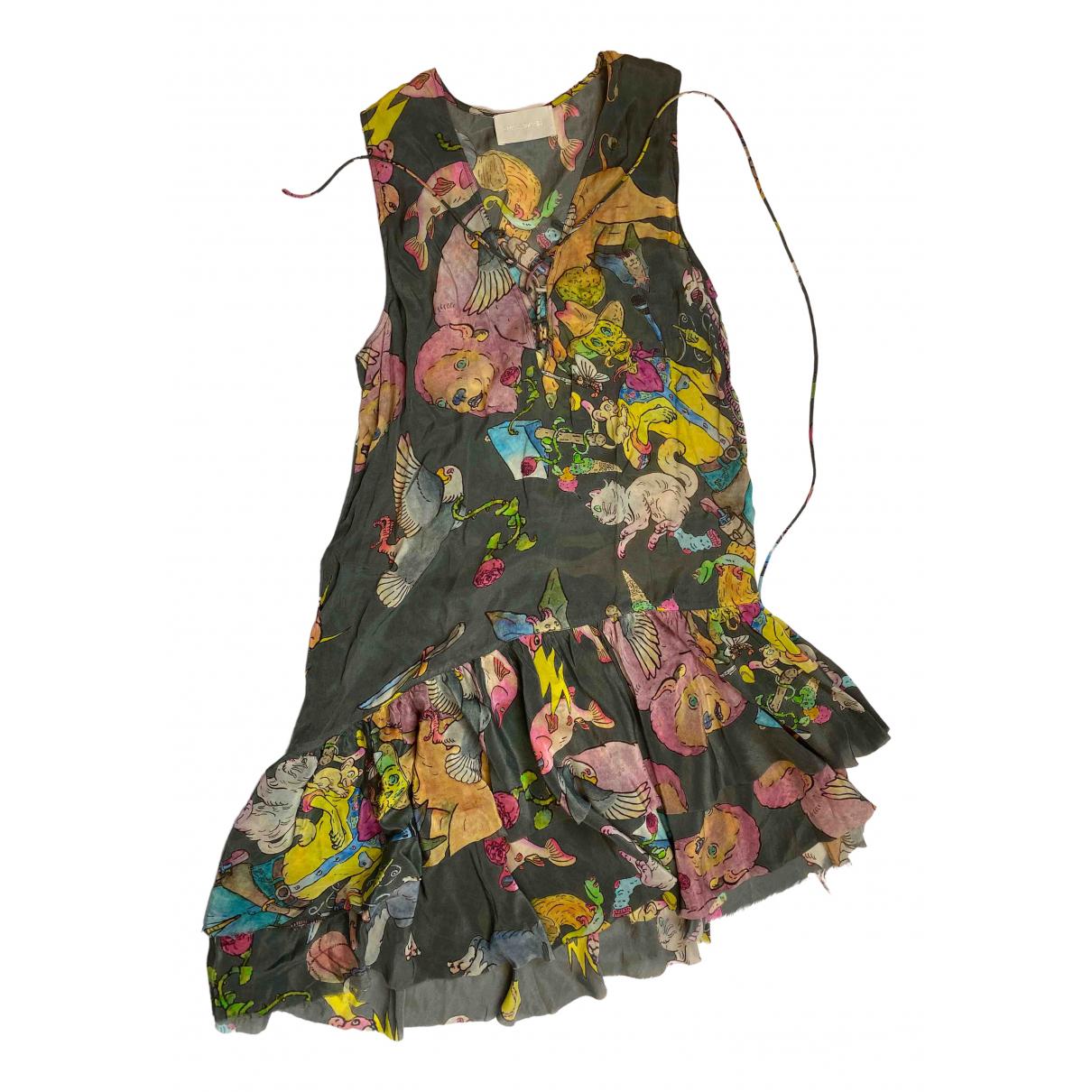 Zadig & Voltaire \N Kleid in  Bunt Viskose