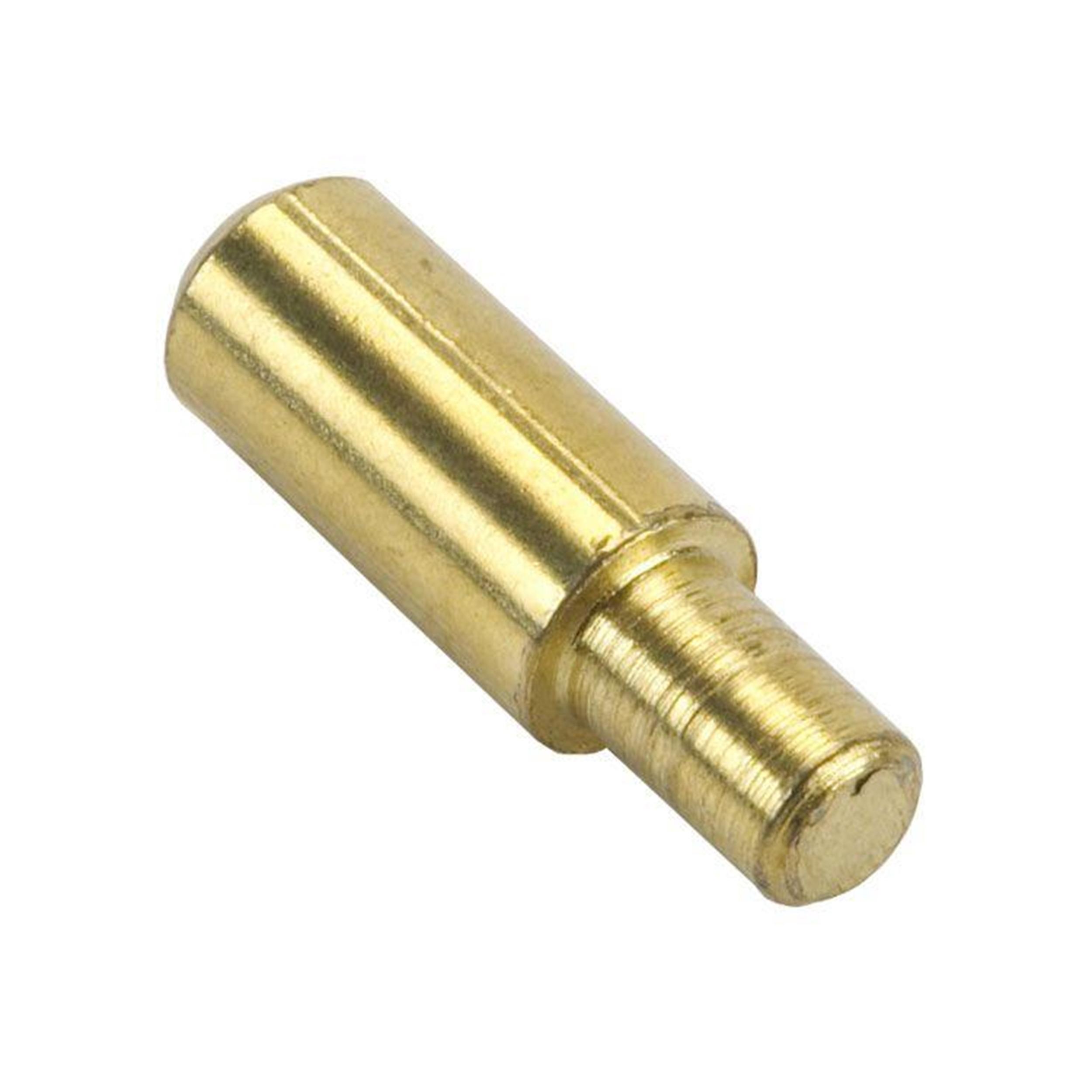 Shelf Support Pin, Round Brass, 5 mm, 20 pack