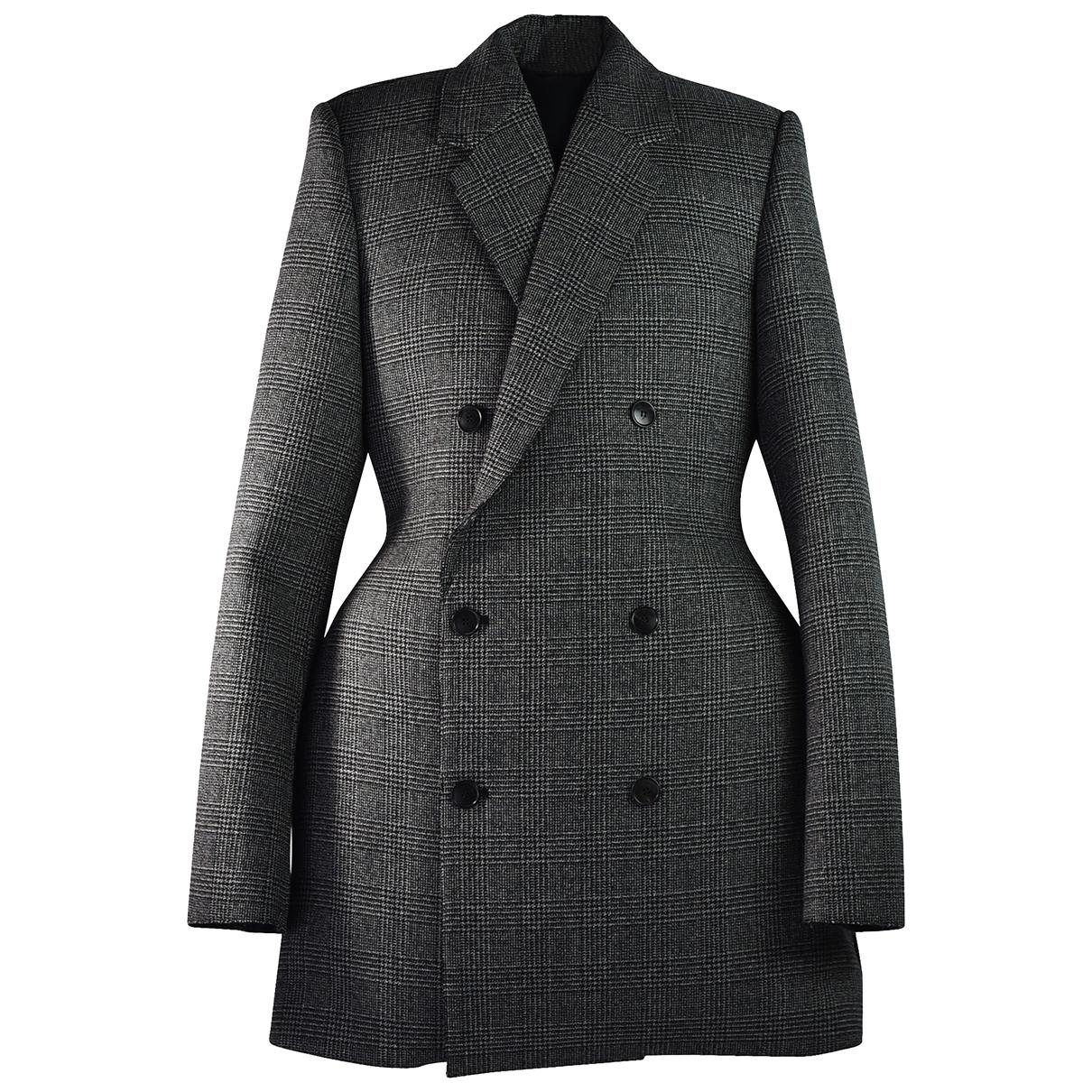 Balenciaga \N Maentel in  Bunt Wolle