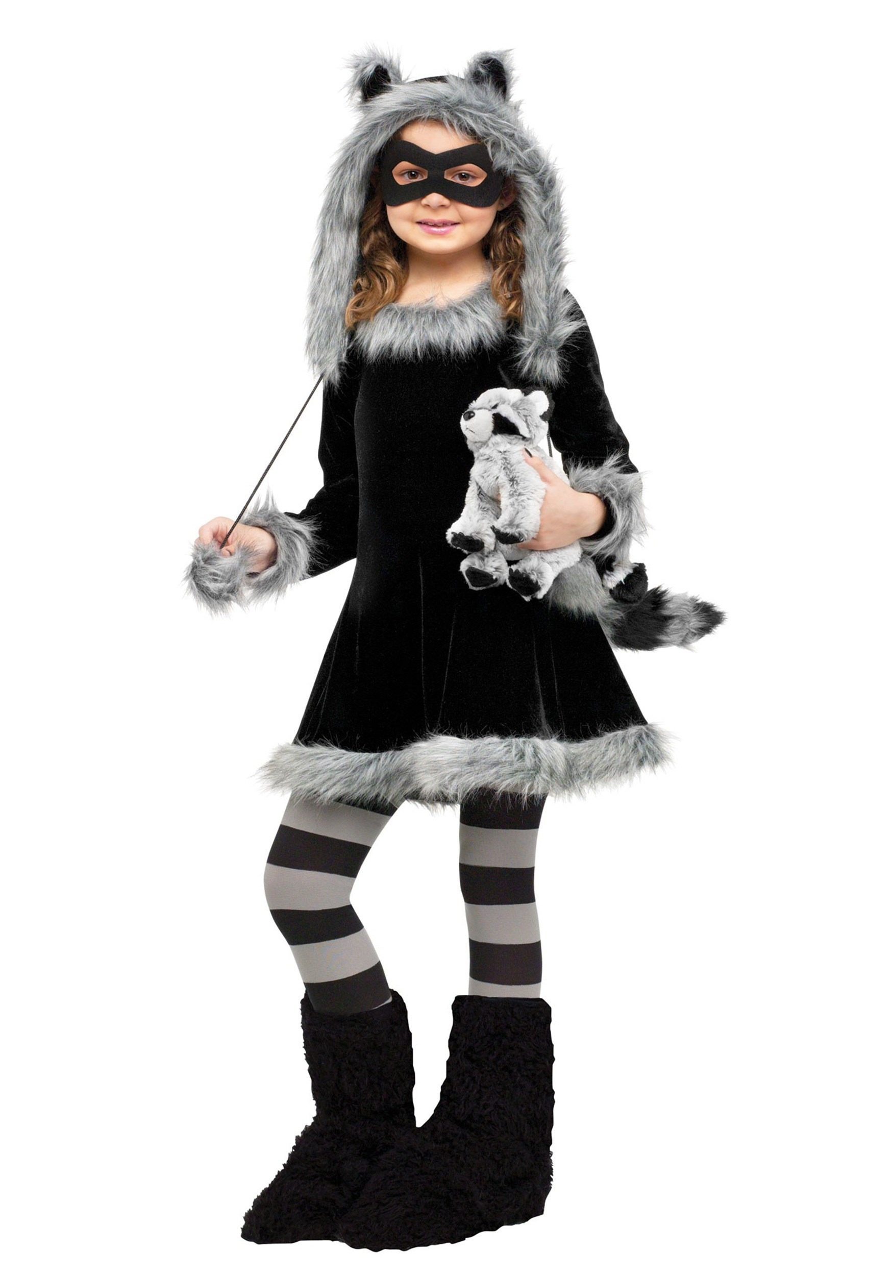 Sweet Raccoon Costume for Girls