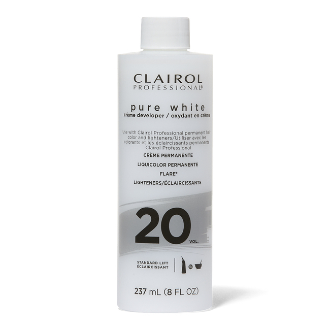 Pure White 20 Volume Creme Developer - 8oz