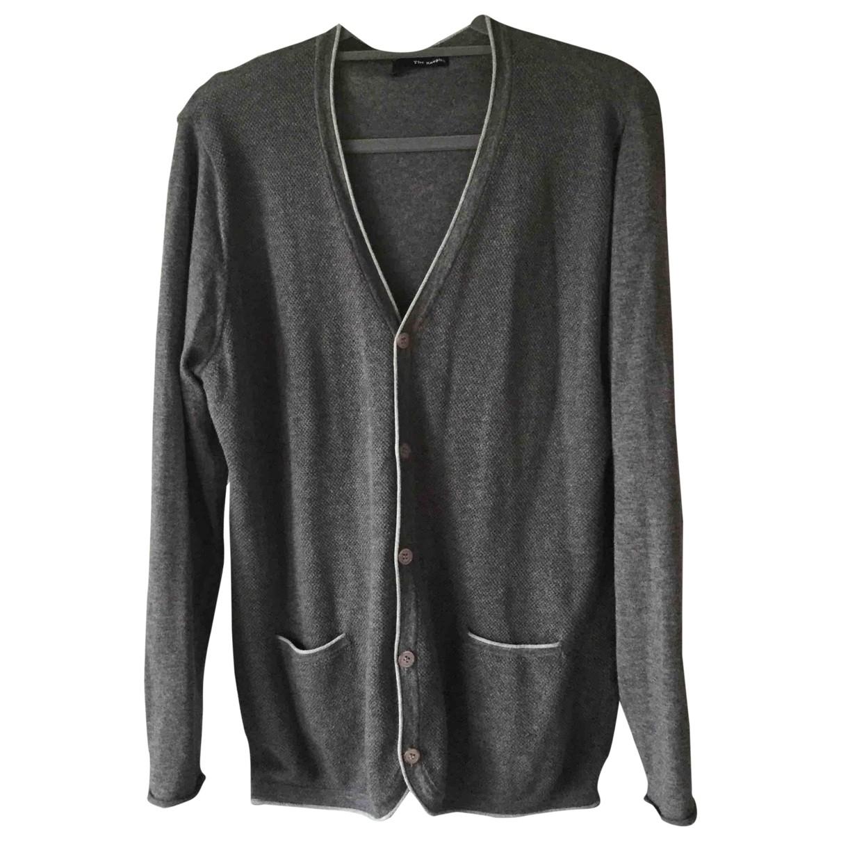 The Kooples \N Pullover.Westen.Sweatshirts  in  Grau Baumwolle