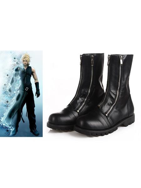 Milanoo Halloween Carnaval Zapatos de cosplay de Halloween en la nube de Final Fantasy VII