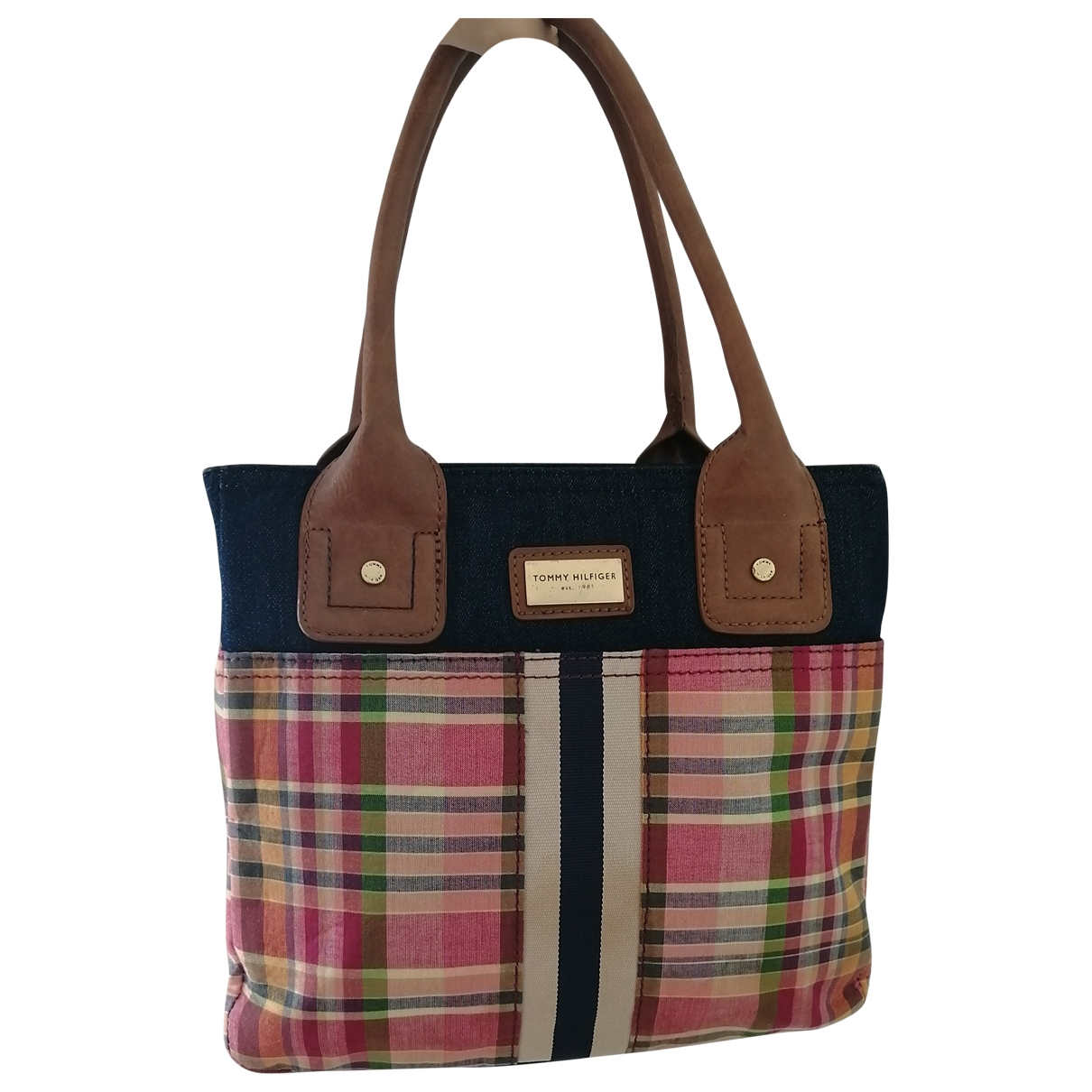 Tommy Hilfiger \N Multicolour Denim - Jeans handbag for Women \N