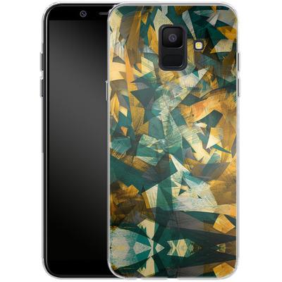 Samsung Galaxy A6 Silikon Handyhuelle - Raw Texture von Danny Ivan