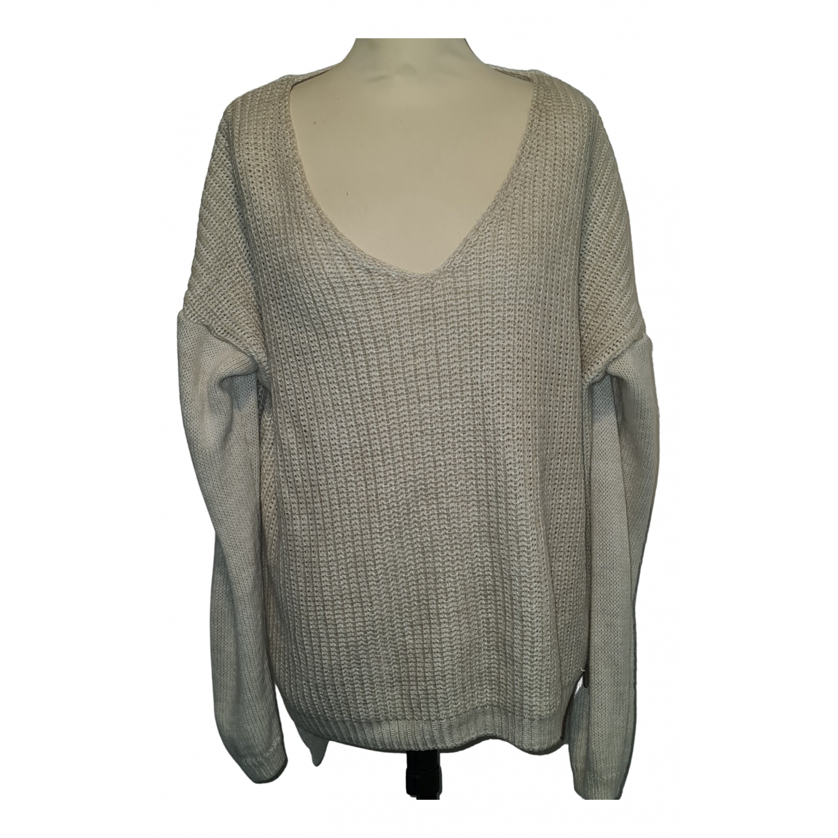 Guess \N Pullover.Westen.Sweatshirts  in  Weiss Wolle