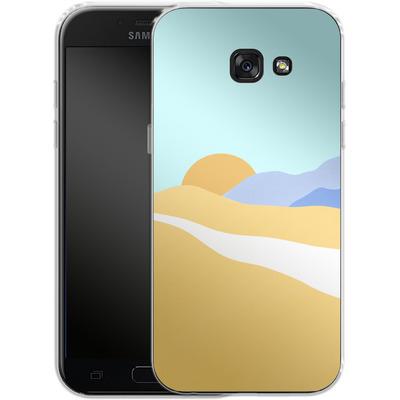 Samsung Galaxy A5 (2017) Silikon Handyhuelle - Sunset Beach von Lucy Bohr