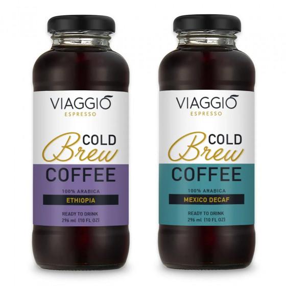 "Kalt gebruehter Kaffee Viaggio Espresso ""Cold Brew + Mexico Decaffeinato"", 592 ml"