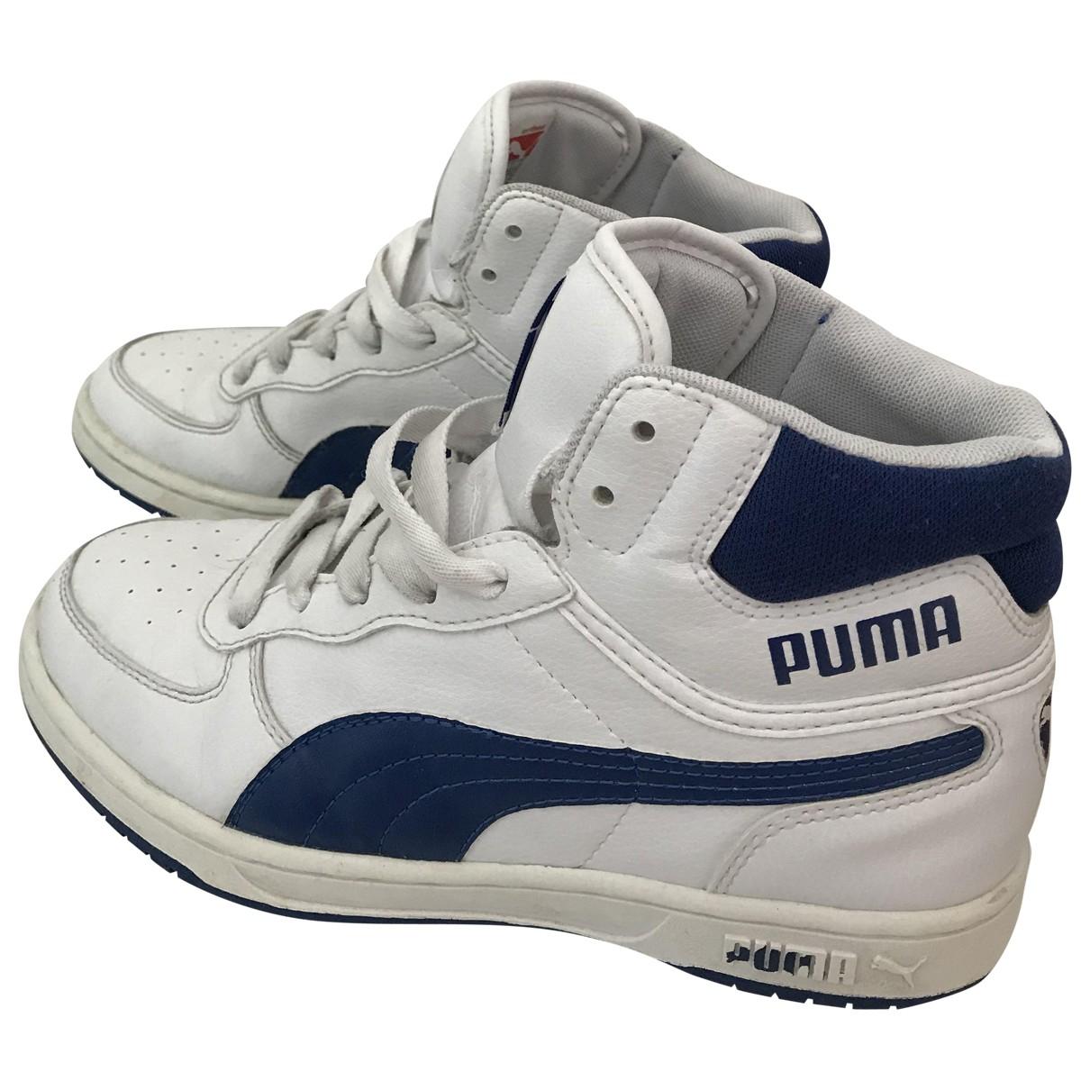 Puma \N White Trainers for Kids 37 FR