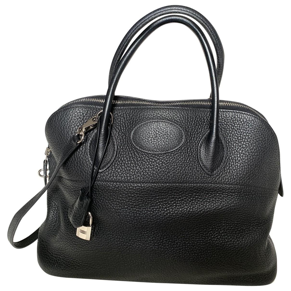 Hermès Bolide Black Leather handbag for Women \N
