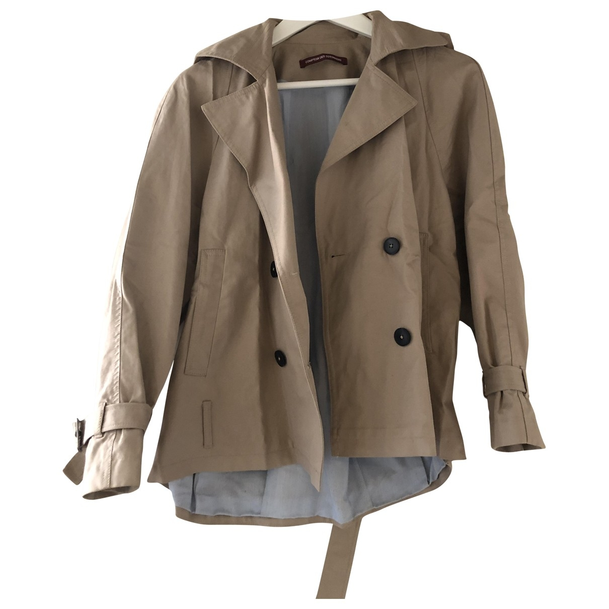 Comptoir Des Cotonniers - Veste   pour femme en coton - beige