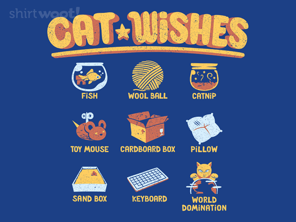 Cat Wishes T Shirt