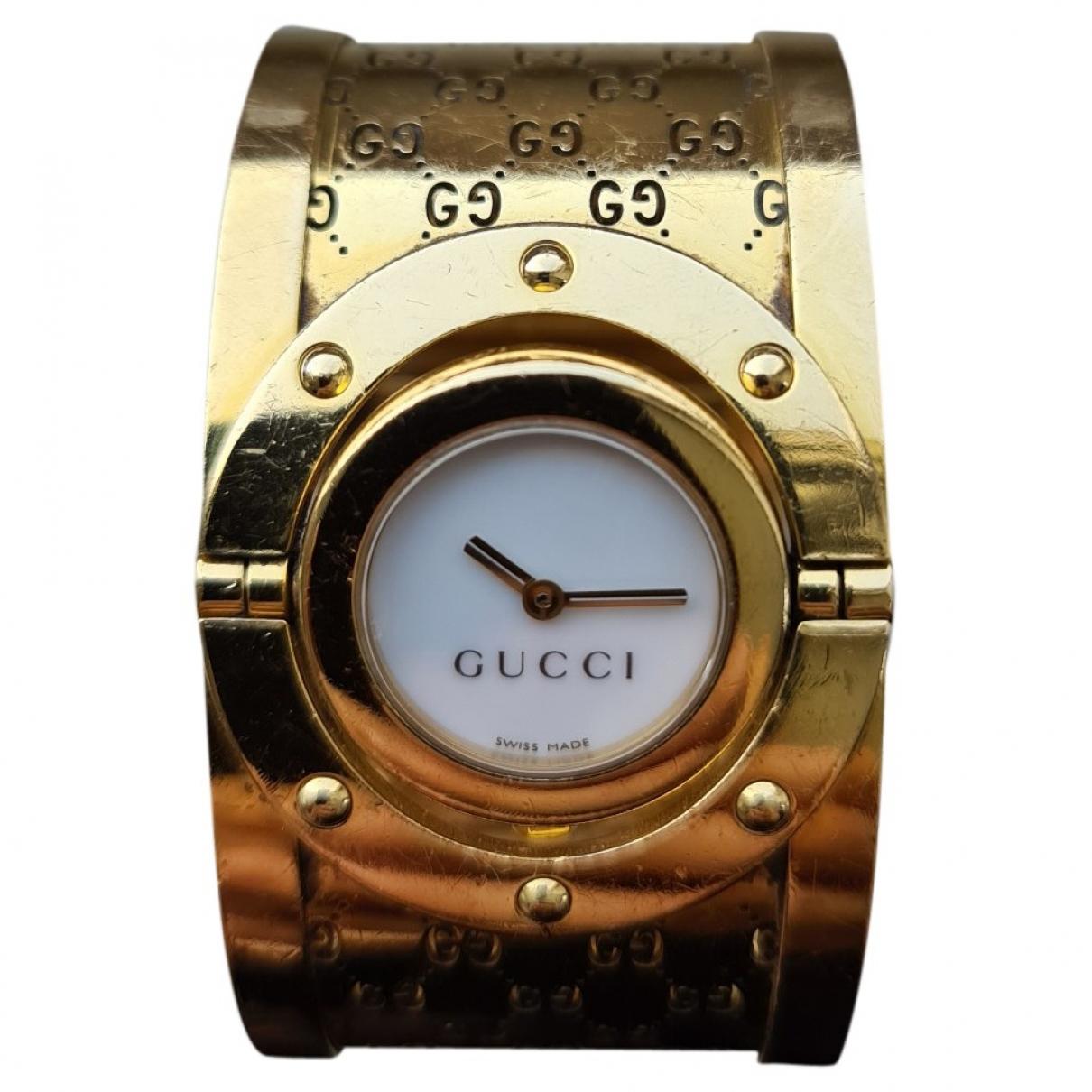 Gucci - Montre Twirl pour femme en or