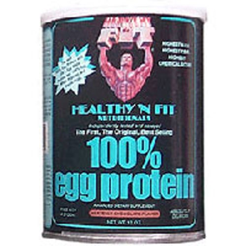 Egg Protein 100% CHOCOLATE, 12 OZ by Healthy 'n Fit