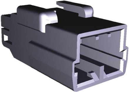 TE Connectivity , MULTILOCK 070 Female Connector Housing, 3.5mm Pitch, 3 Way, 1 Row