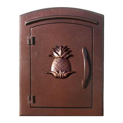 MAN-1405-AC Manchester NON-LOCKING Column Mount Mailbox with