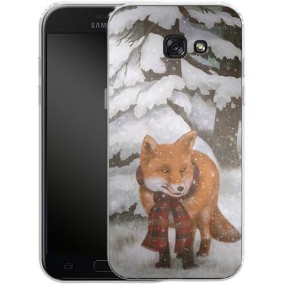 Samsung Galaxy A5 (2017) Silikon Handyhuelle - Winter Fox von Terry Fan
