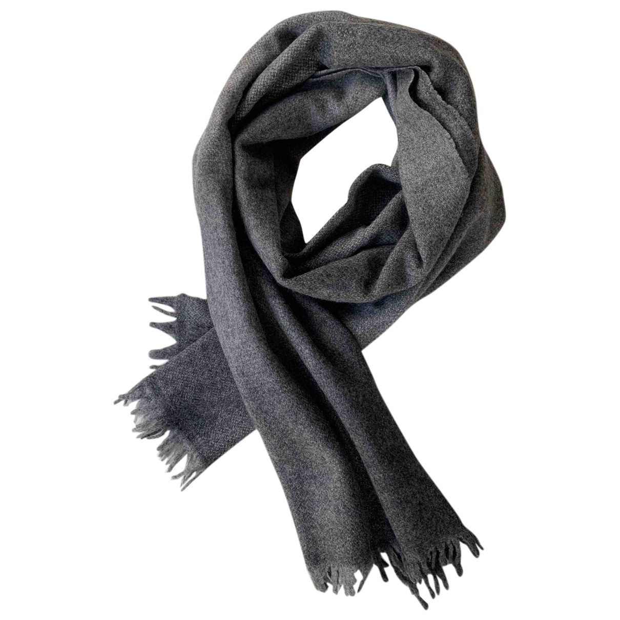 Brunello Cucinelli N Grey Cashmere scarf for Women N