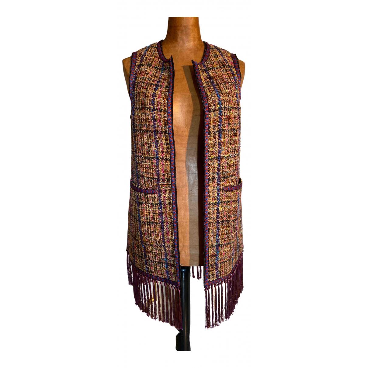 Etro N Multicolour Wool Knitwear for Women 38 IT