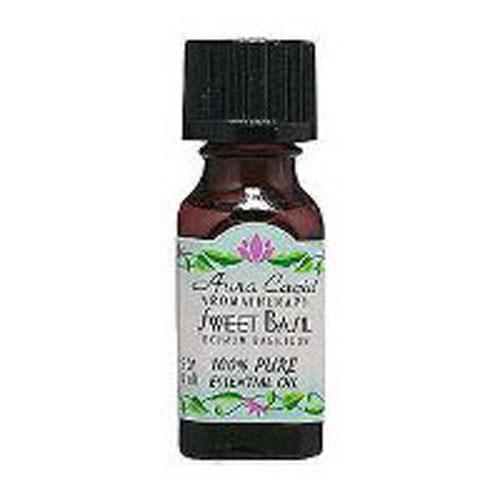 Essential Oil Basil (ocimum basilcum) 0.5 Fl Oz by Aura Cacia