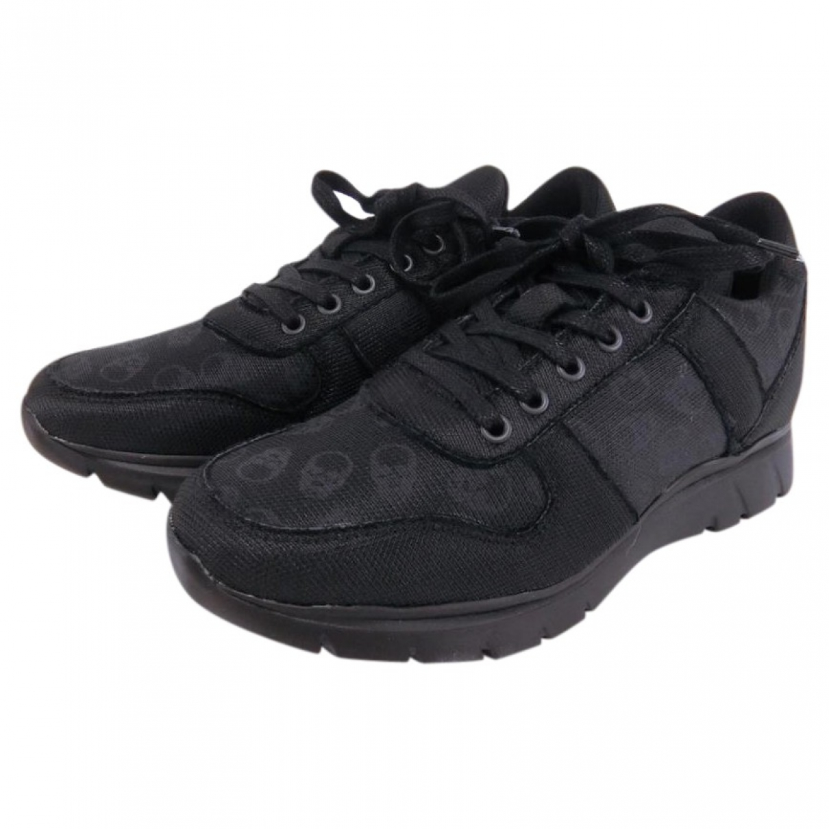 Lucien Pellat Finet \N Black Leather Trainers for Women 5.5 US