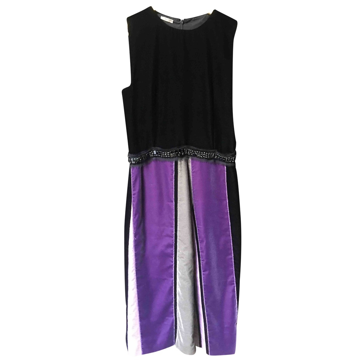Bottega Veneta \N Black Velvet dress for Women 42 IT