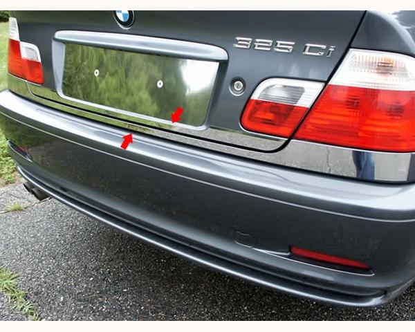 Quality Automotive Accessories 2-Piece 2.5-Inch Width-Rear Deck Trim BMW 330Ci 2005