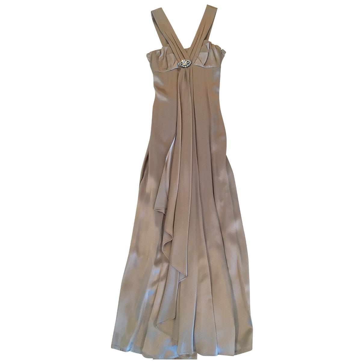 Karen Millen \N Kleid in  Grau Seide