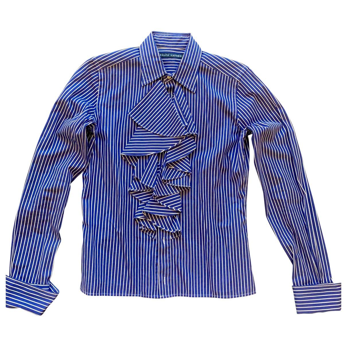 Ralph Lauren - Pull   pour femme en coton - bleu