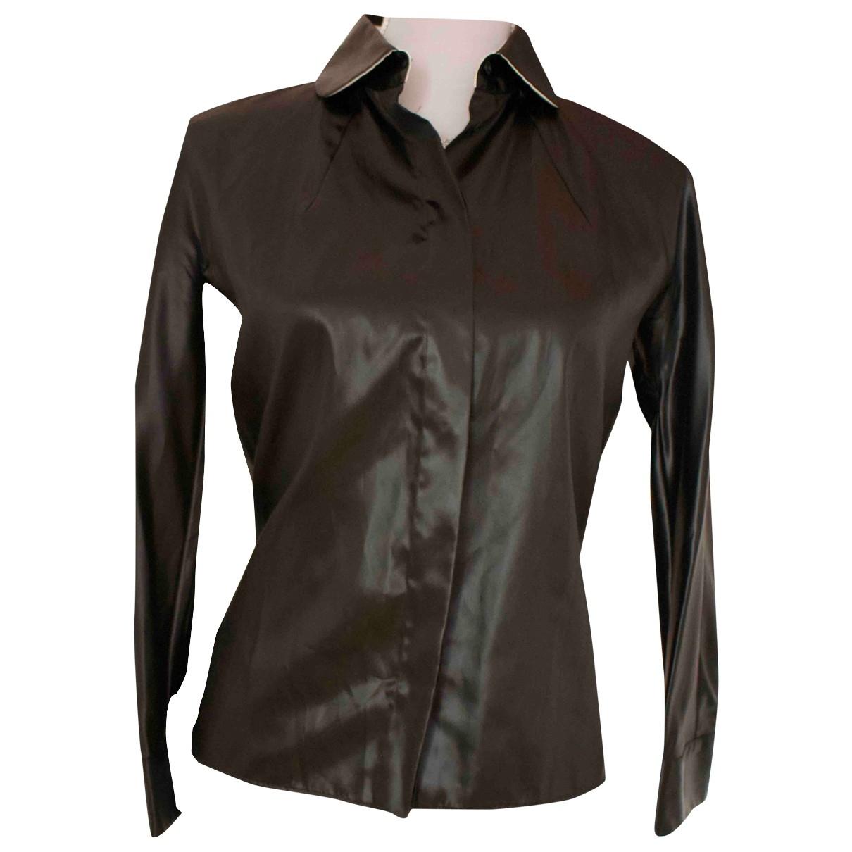 Fendi \N Black Silk  top for Women 40 IT