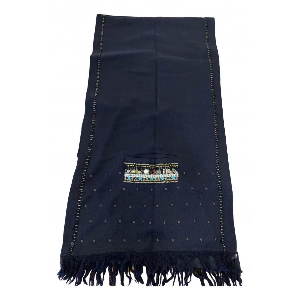 Megan Park \N Schal in  Blau Wolle