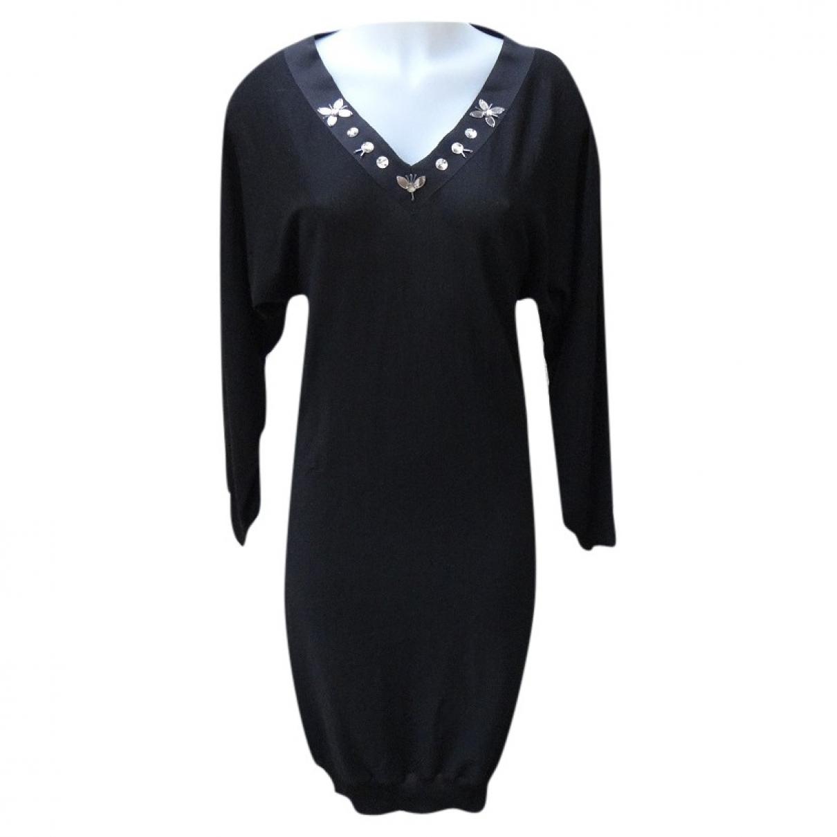 Lanvin \N Black Wool dress for Women S International