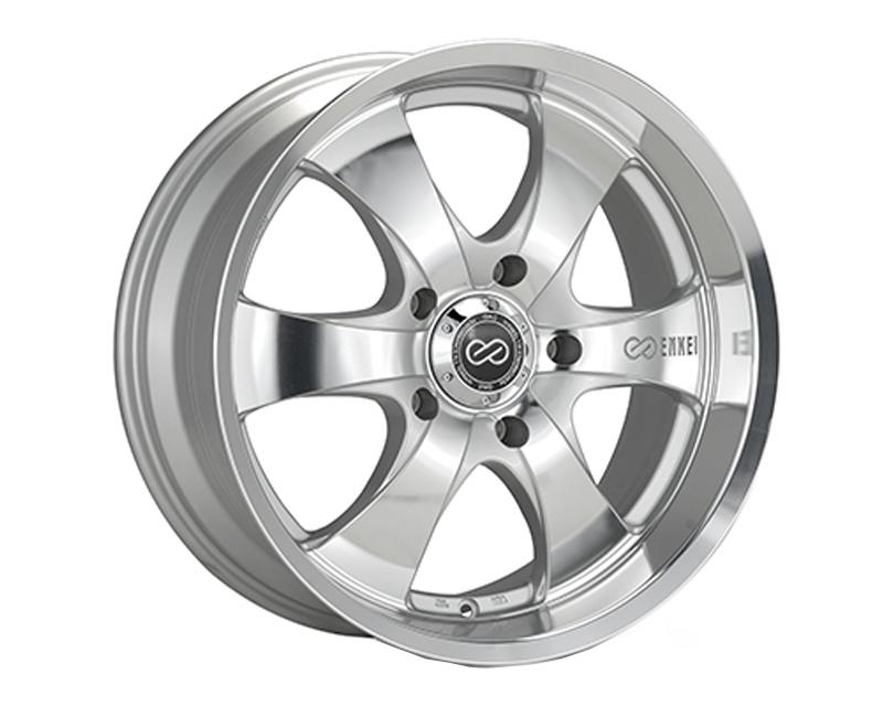 Enkei M6 Wheel Truck & SUV Series Silver Machined 20x9 6x135 30mm