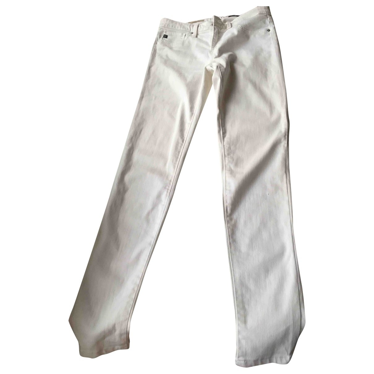 Adriano Goldschmied \N Beige Cotton Jeans for Women 26 US