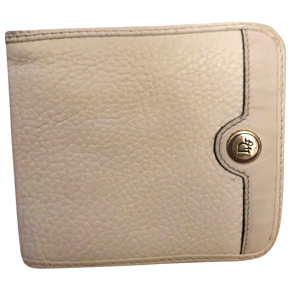 Dior \N White Leather wallet for Women \N