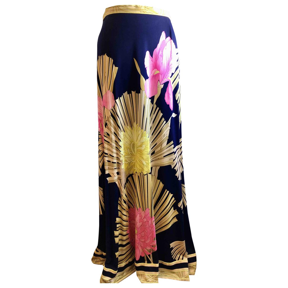Leonard \N Multicolour Silk skirt for Women 42 IT