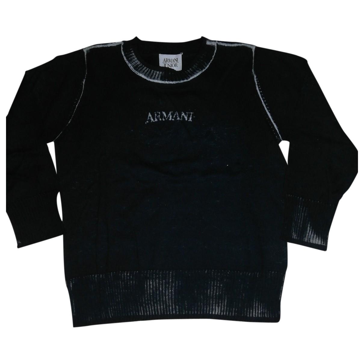 Armani Baby - Pull   pour enfant en coton - bleu