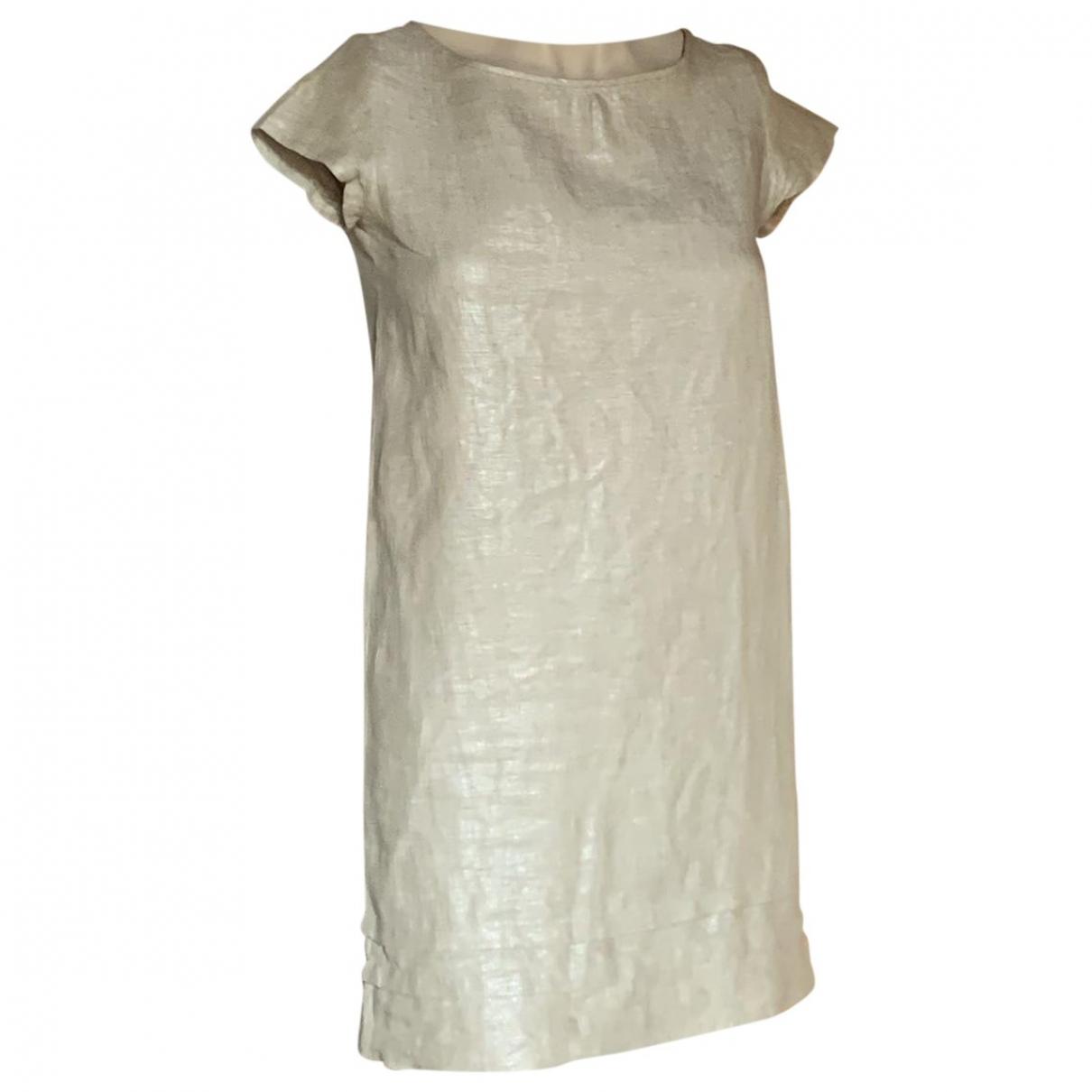 Mini vestido de Lino Bonpoint