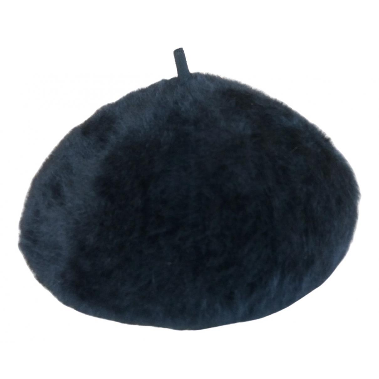 Kangol - Chapeau   pour femme en laine - noir