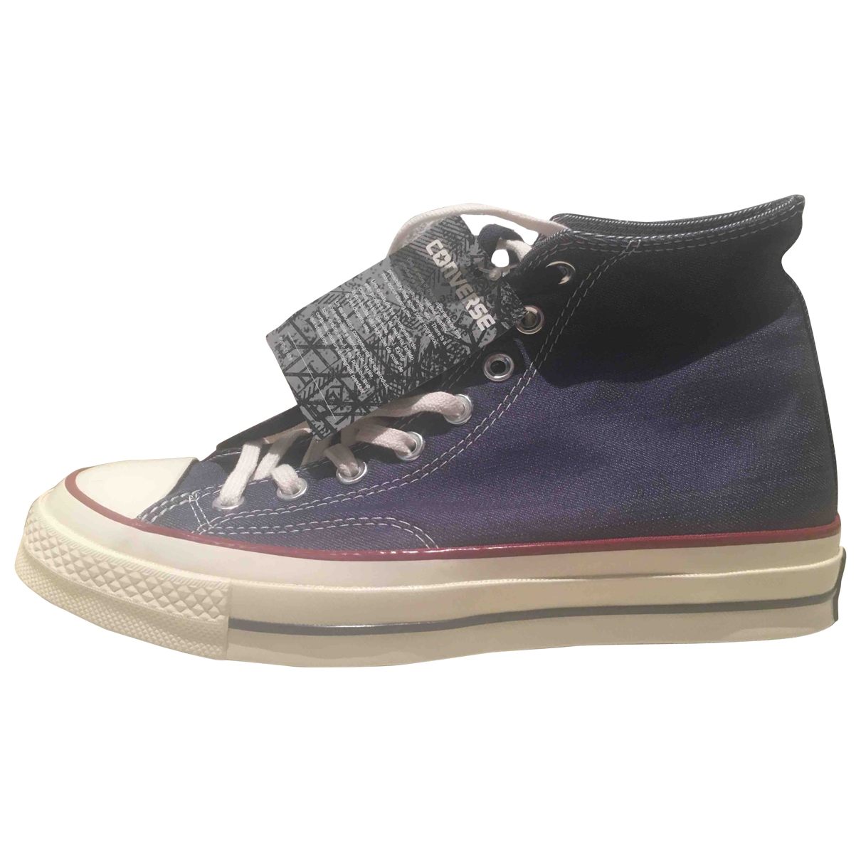 Converse \N Blue Cloth Trainers for Men 7.5 US