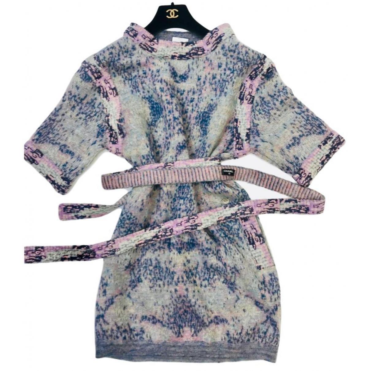 Chanel \N Kleid in  Bunt Wolle