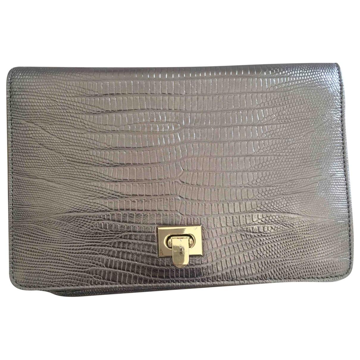 Uterque \N Metallic Leather Clutch bag for Women \N