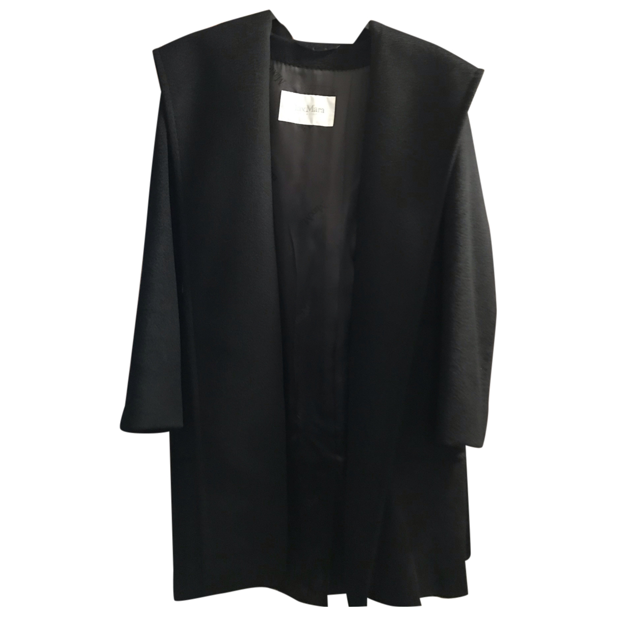 Max Mara N Black Cashmere coat for Women 36 IT