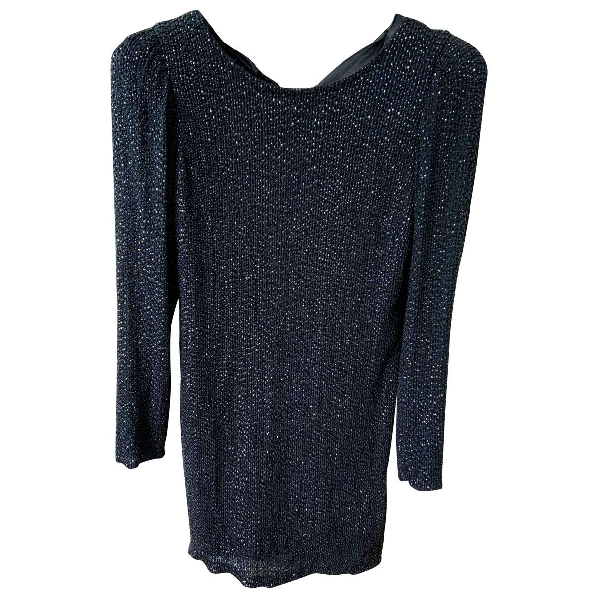 Hoss Intropia - Robe   pour femme en a paillettes - noir