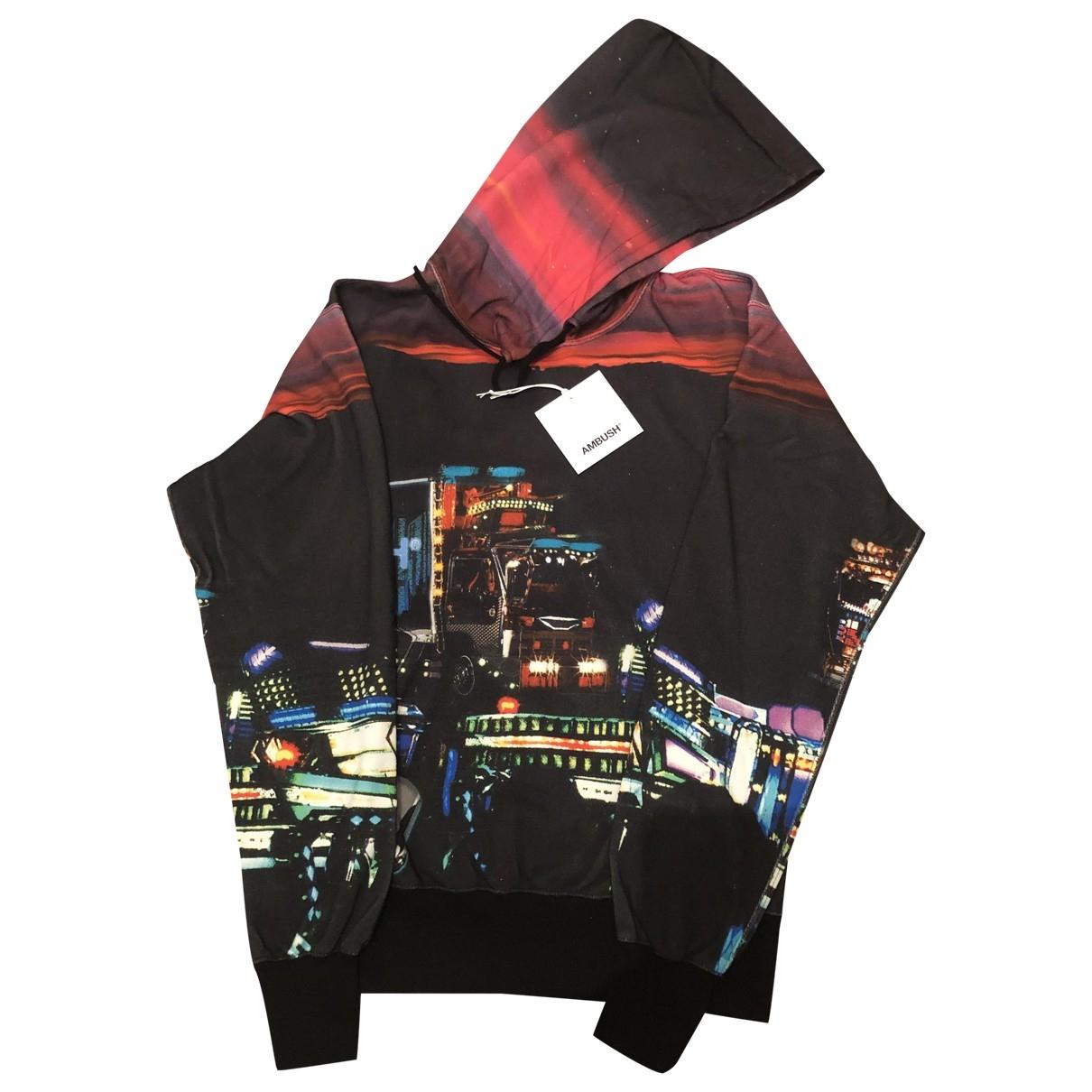 Ambush \N Pullover.Westen.Sweatshirts  in  Schwarz Baumwolle