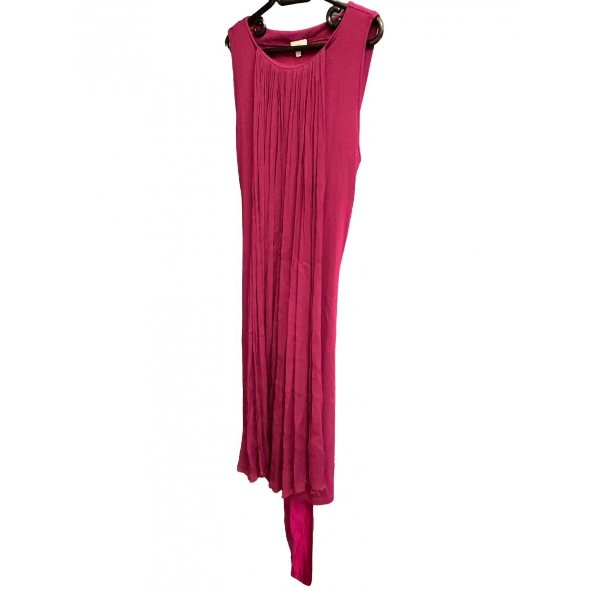 Hoss Intropia - Robe   pour femme en soie - violet